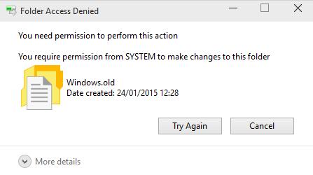 13._Windows_10_Folder_Access_Deined